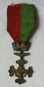 Original Frankreich Orden Rettungsmedaille Sauveteurs du Nord 1877 (118061)