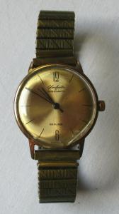 Elegante Glashütte Spezimatic 26 rubis Armbanduhr Automatik Uhr (104394)