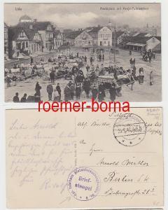 77646 Feldpost Ak Lida Stempel kgl.fahrbare Blutuntersuchungsstelle Nr.6, 1917