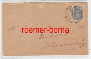 75275 alter Brief Südafrikanische Republik 2 1/2 Penny 19.Juni 1900