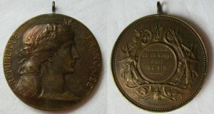 Seltene Medaille Frankreich Département de la Marne Prix de Tir (119029)