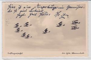 90396 AK Seefliegerstaffel - Wasserflugzeug Kommando, Flugformation im Jahr 1935