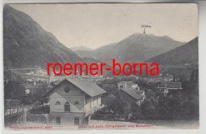 68174 Ak Chur mit Joch, Gürgaletsch und Weisshorn 1909