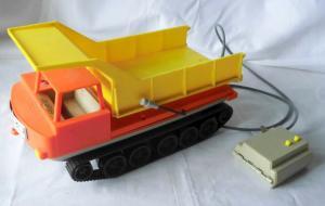 DDR Spielzeugauto von Anker Kettenfahrzeug Mars 1:18 mit Fernbedienung (104048)
