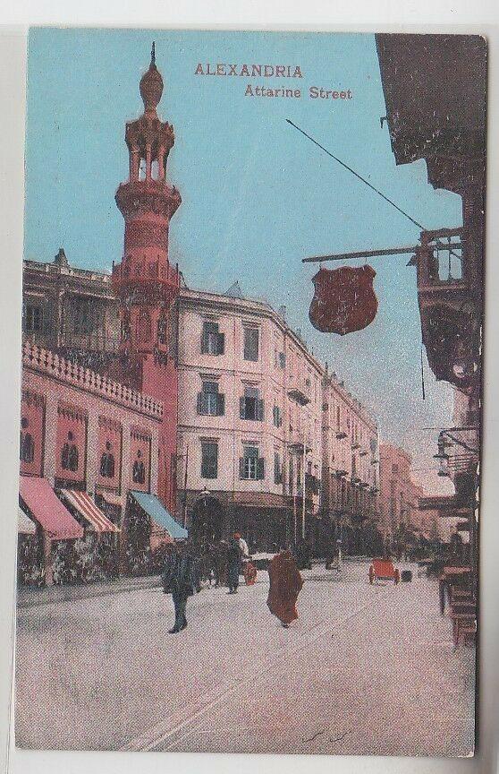 64523 Ak Alexandria Ägypten Attarine Street um 1910 0