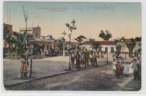 70477 Ak La Linea bei Gibraltar Plaza de Farinas 1912