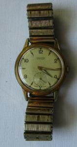 Alte Herren Armbanduhr Vintage Marke Orator Swiss Made 17 rubis (108669)