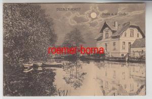 72198 Ak Delmenhorst Partie a.d. Graft Mondscheinkarte 1923