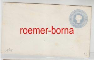 75172 seltener Ganzsachen Brief Mauritius 8 Cents grau um 1900