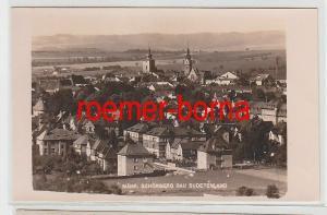 71858 Foto Ak Mähr. Schönberg Gau Sudetenland 1943