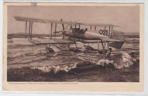 83822 Ak Französisches Marineflugzeug (Breguet Doppeldecker) 1917