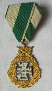 Abzeichen Militär und Kriegerverein Kameradschaft Heidenau 1.März 1889 (116940)