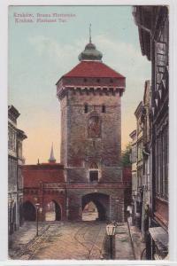 88415 AK Kraków (Krakau) - Florianer Tor Gesamtansicht 1918