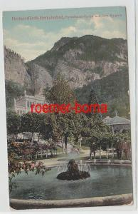72847 Ak Herkulesfürdö Rumänien Partie aus dem Kurpark um 1910