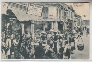 70476 Ak Singapore Street Scene 1914