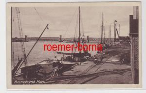 81631 Ak Masnedsund Havn um 1930