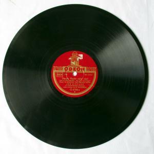 110645 Odeon Jan Kiepura Schellackplatte Heute Nacht oder nie / La Danza um 1930
