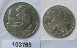 DDR Gedenk Münze 20 Mark 30.Jahrestag der DDR 1979 (103765)