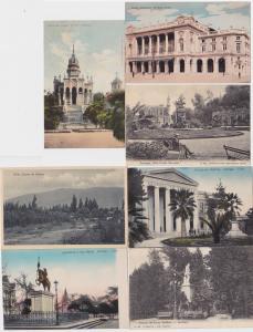 69010/7 Ak Santiago Chile Ortsansichten 1914