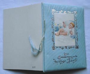 Hübscher Taufbrief Zur Erinnerung an die heilige Taufe 1921 (110848)