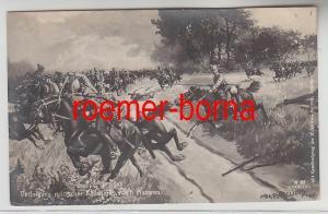 73554 Ak Verfolgung russischer Kavallerie durch Husaren 1915