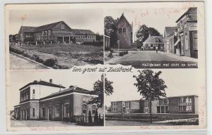 01006 Mehrbild Ak Een groet uit Zuidbroek 1968