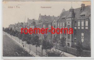 78460 Feldpost Ak Lissa in Posen Kasernement 1916