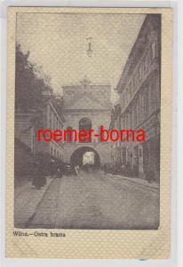 84400 Feldpost Ak Wilno Vilnius Litauen Ostra Brama 1915