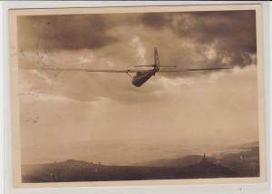 90004 AK Segelflug auf der Wasserkuppe (Rhön) - Der Sonne entgegen! 1935