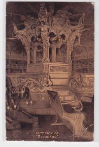 69730 AK Interior of Eldorado - Innenausstattung von Eldorado 1912