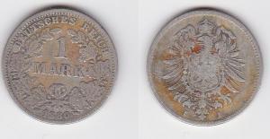 1 Mark Silber Münze Deutschland Kaiserreich 1888 F Jäger Nr.9 (123283)