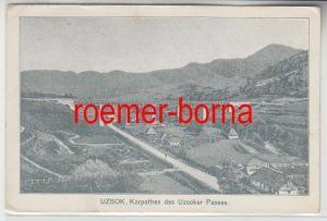 73790 Feldpost Ak Uzsok Ukraine Karpathen des Uzsoker Passes 1915