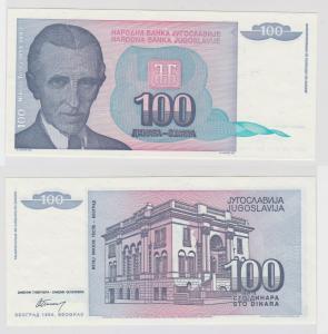 100 Dinar Banknote Jugoslawien 1994 kassenfrisch (133258)