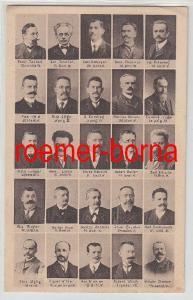79248 Ak Die sozialdemokratische Fraktion des sächsischen Landtages um 1920