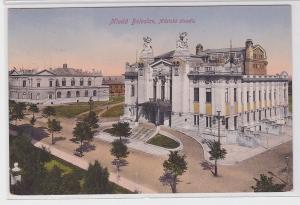 23557 AK Mladá Boleslav - Městské divadlo (Stadttheater) 1916
