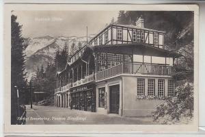 71894 Ak Kurort Semmering, Pension Hirschvogel, Stuhleck, 1926