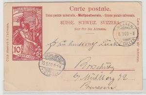 70593 Ak Schweiz Jubile de L´Union Postale Universelle 1875-1900