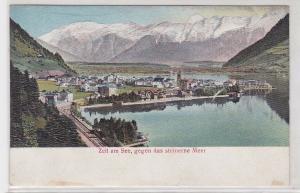 89741 Präge AK Zell am See gegen das steinerne Meer um 1900
