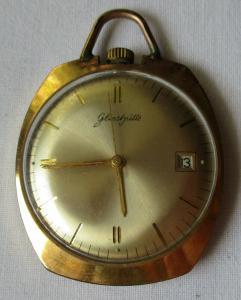 Glashütte Herren Frackuhr Handaufzug mit Datumsanzeige Kaliber 69.1 (101149)