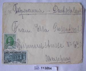 Seltener Brief von Leningrad Sowjetunion nach Merseburg 1928 (113054)