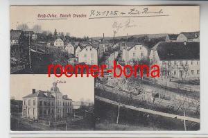 74393 Mehrbild Ak Groß-Oelsa Bezirk Dresden 1925