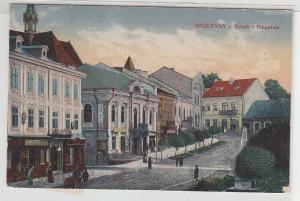 17886 Ak Brzeżany Bereschany Rynek Ringplatz 1917