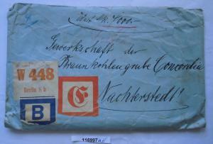 Seltener Wert Brief Braunkohlengrube