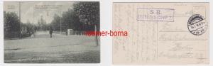 84527 Feldpost Ak Grodno Hrodna Гроднo Most nad Doline Szwajcarska 1916