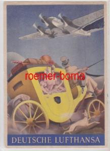 85259 Reklame Ak Deutsche Lufthansa A.-G. um 1935
