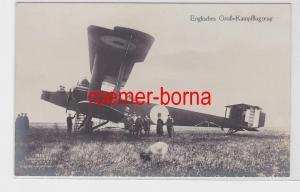 85588 Ak Flugzeug Engliches Groß-Kampfflugzeug um 1915