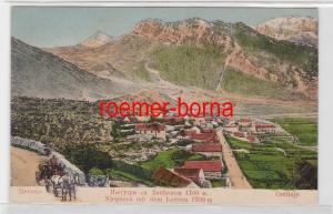 84754 Cettinje Cetinje Цетиюе Njegusch Njegoš mit dem Lovćen 1919
