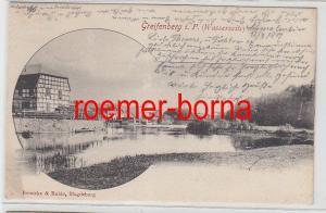 78459 Ak Greifenberg in Pommern Gryfice (Wasserseite) 1901