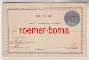 57000 seltene Ganzsachen Postkarte Schweden 5 Öre vor 1900