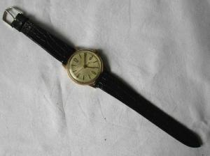 GUB Glashütte SA Armbanduhr 17 Steine Stossgesichert Made in Germany (126364)